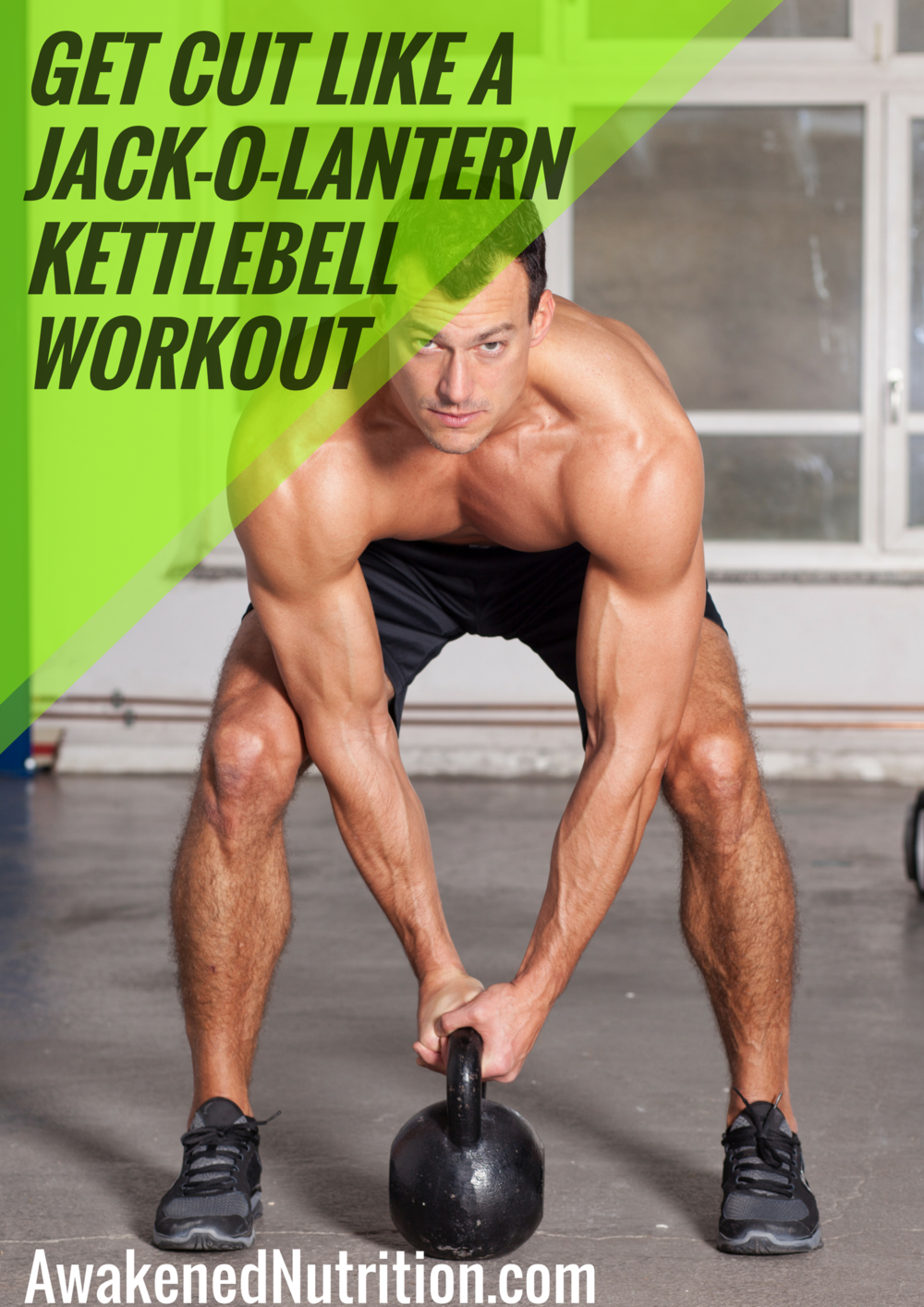 Get cut like a Jack-O-lantern kettlebell workout