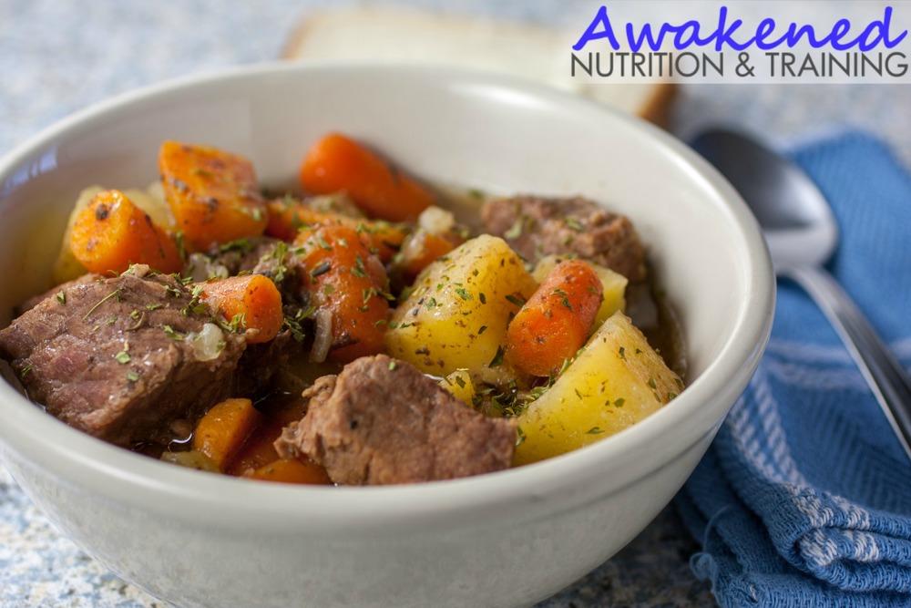 Easy Paleo Crockpot Beef Stew
