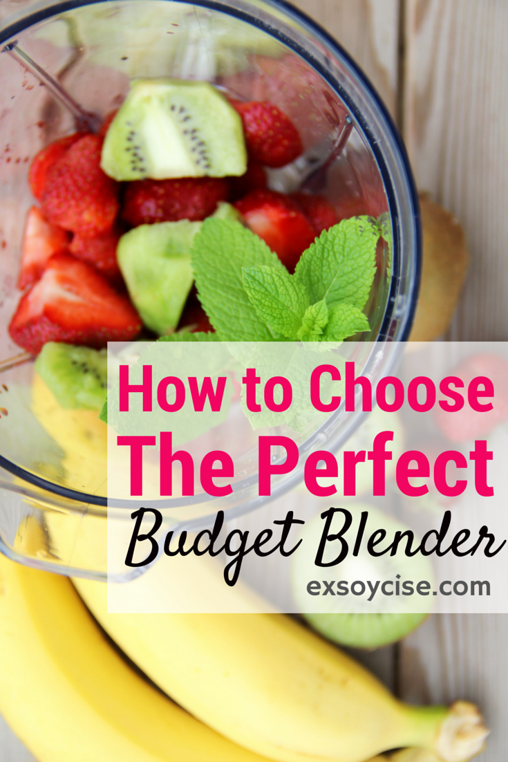 How to choose the perfect budget blender