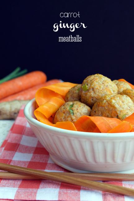 Carrot Ginger Meatballs - 5 Yummy Recipes You Need To Try During The 21 Day Sugar Detox #21DSD