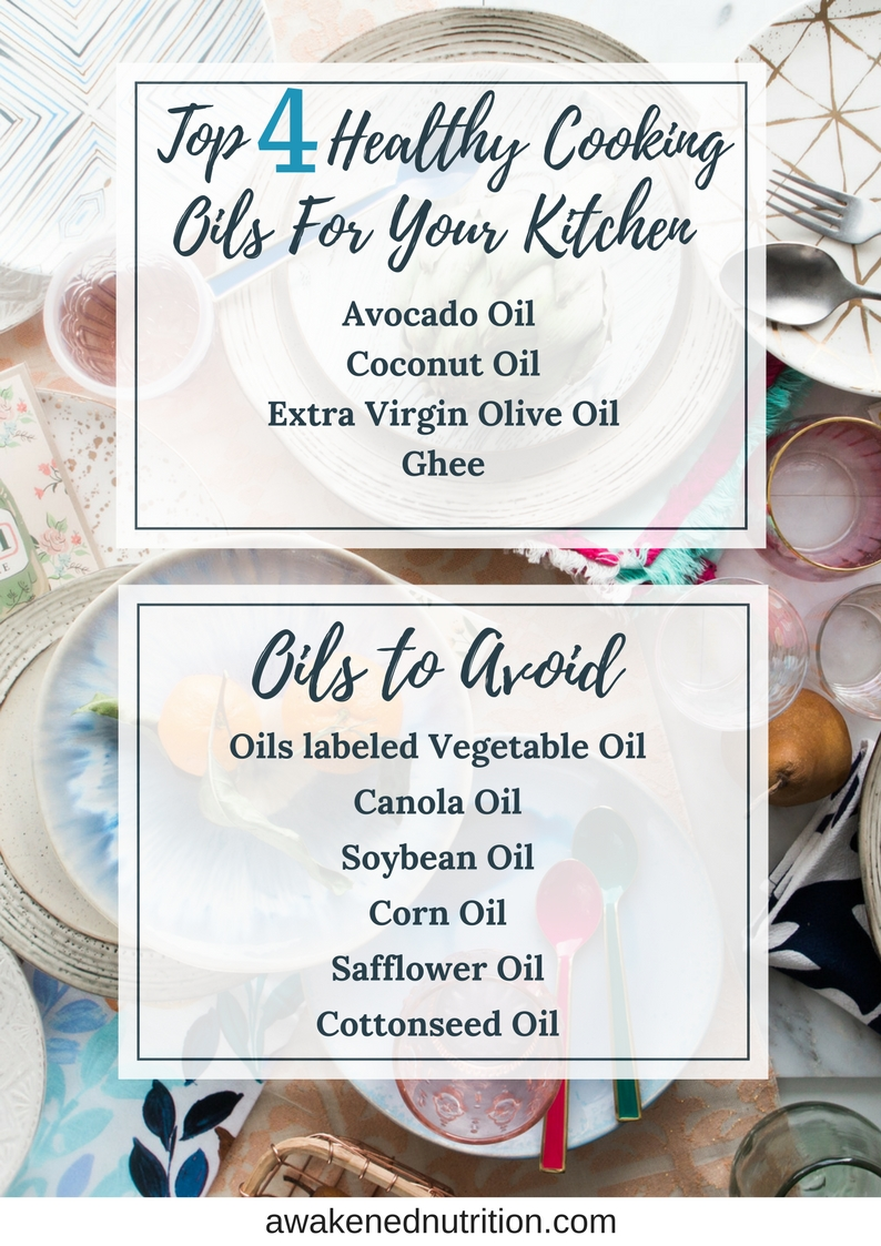 4 Healthy Cooking Oils You Should Be Using In The Kitchen