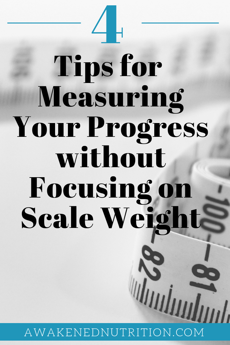What's the difference between Weight Loss vs. Fat Loss? Jumping on the scale every day is never a good idea. Your weight can fluctuate for number of reasons which can really mess with your head especially when you are working really hard to be healthy and lose weight! Here we give you 4 tips on how to measure your progress without focusing on the scale weight.