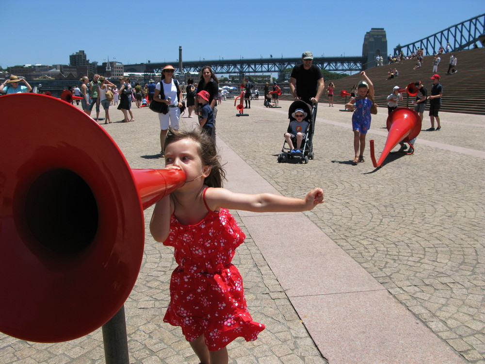 'The Megaphone Project' at Sydney Opera House 2009