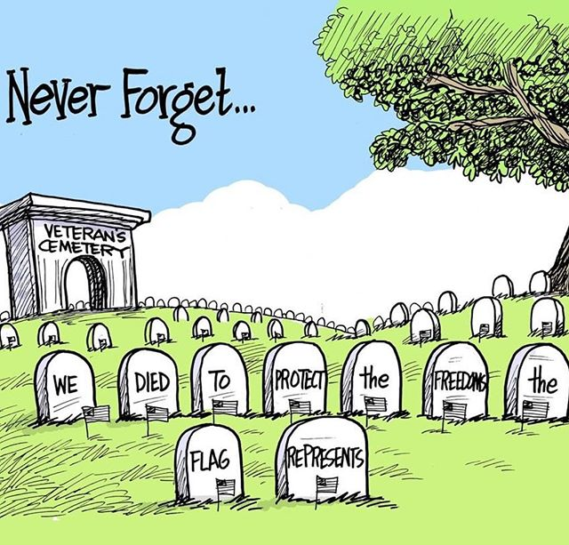 📹 by @usatoday ・・・ Never Forget the fallen. Thank you to all brave men and woman who have given us everything. You will not be forgotten! ✏️@marshallramsey, @clarionledger  #america #usa #memorialday #remember