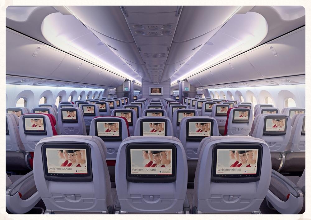 Boeing 787 Main Economy Cabin