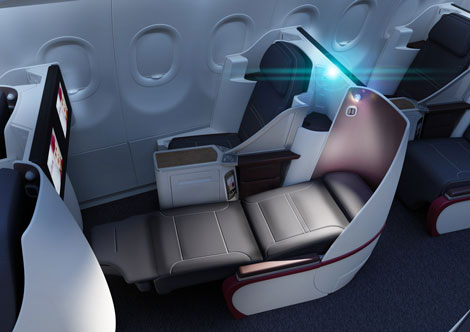 Airbus A318 - all economy class cabin