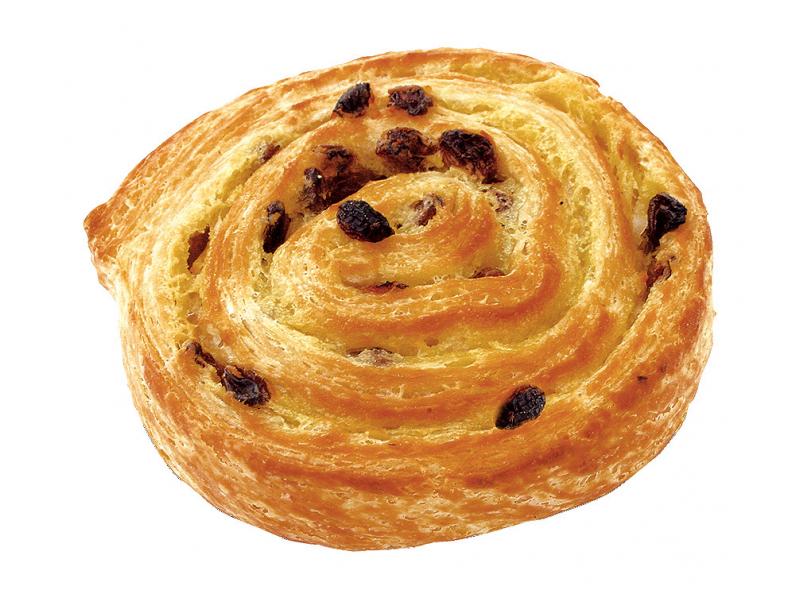 Pan au raisin pastry - by Pret
