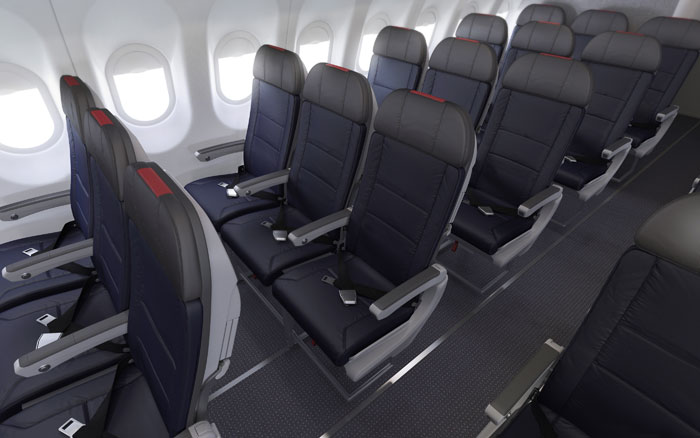 The A321 Economy Class Seat overview