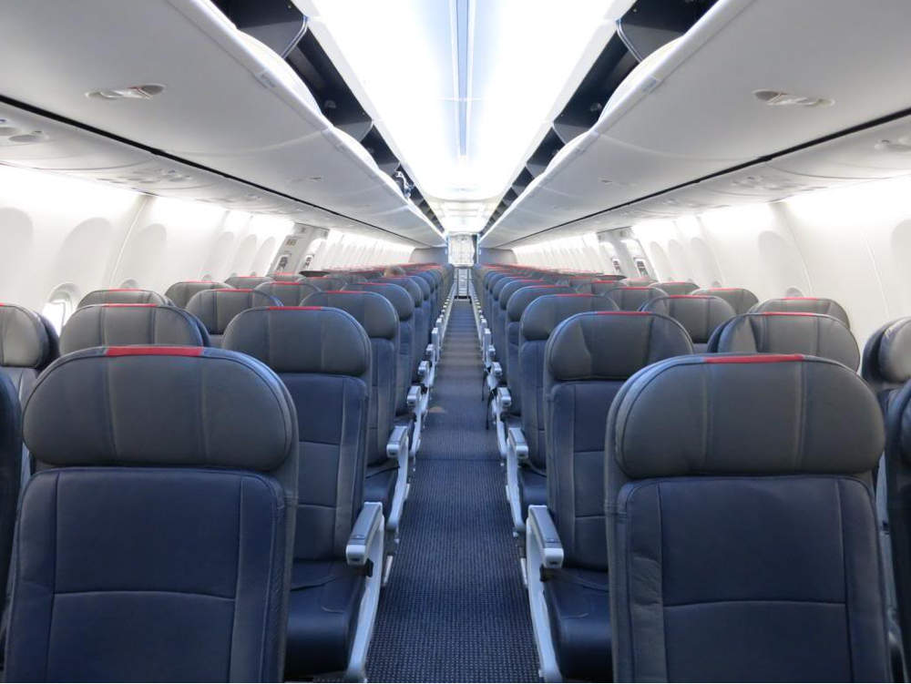 """Economy Slip into our new Economy Style seats, ergonomically designed with comfort your comfort in mind. The Economy Cabin will feature 144 seats offering 30"""" pitch - some will offer even more."""