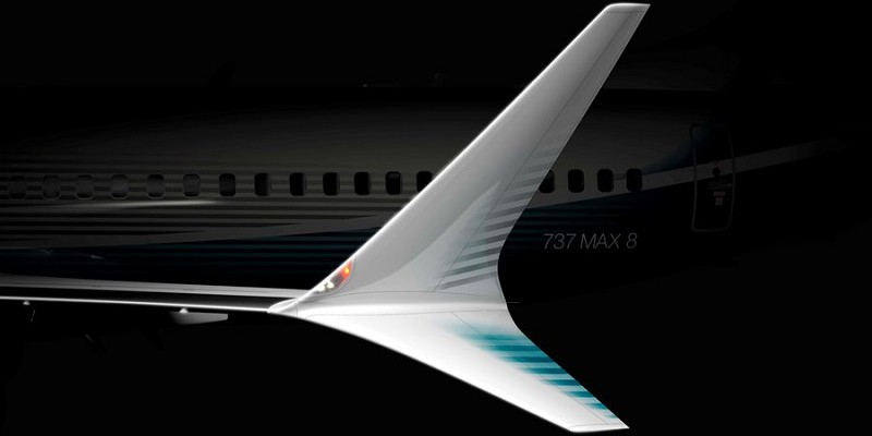 A brand new winglet design - reduces drag and saves more fuel than any previous model