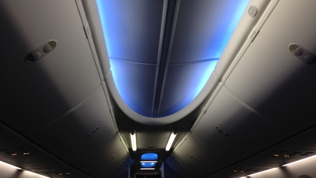 Sky Interior   A colour for every mood - the award winning Sky Interior features state of the art LED Mood lighting to help you relax and complement outside light conditions. Our Boeing 737 MAX also feature the latest SPACE bins to accommodate more hand luggage and make sure foot space remains clear.