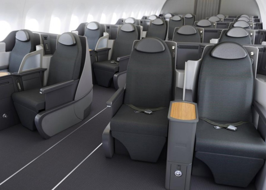 Fully Lie Flat Business Class Seats on the Boeing 737 MAX