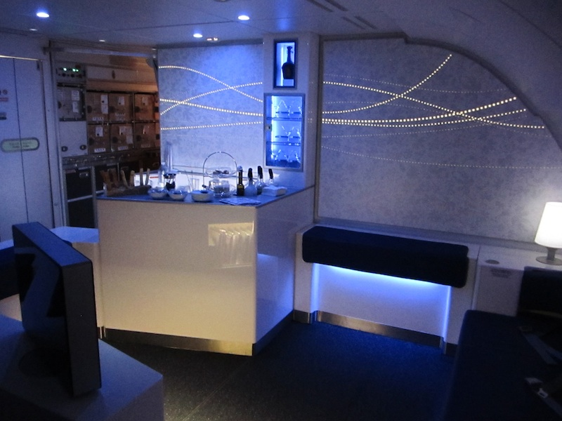 Enjoy a Drink at the A380 lounge & bar