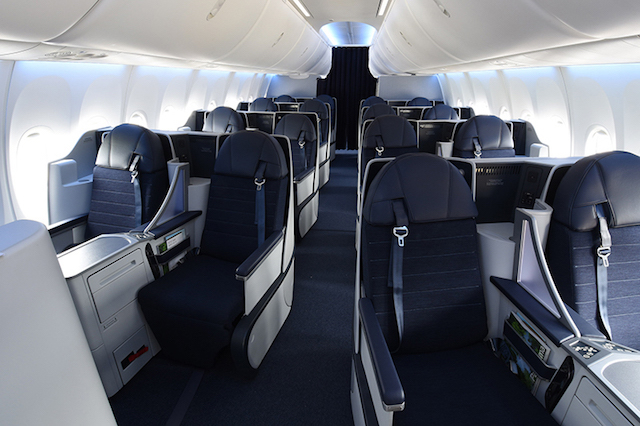 Business   A more spacious cabin and higher payload allows us to deliver a better business class experience. BRITISHJET is one of only a handful of operators to offer a fully lie flat bed seat on the Boeing 737 MAX.