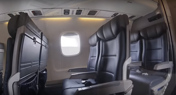 The Embraer Regional Jet Cabin