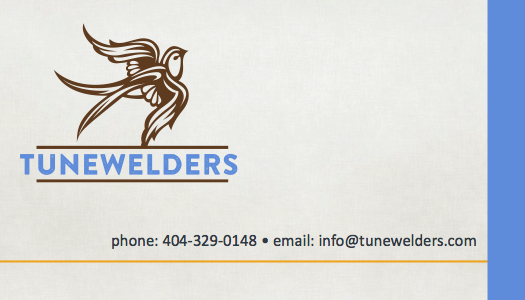 Tunewelders Business Card