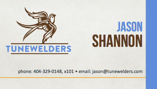 Jason Todd Shannon Business Card