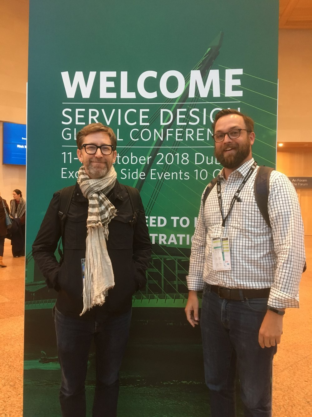 Service Design Global Conference in Dublin