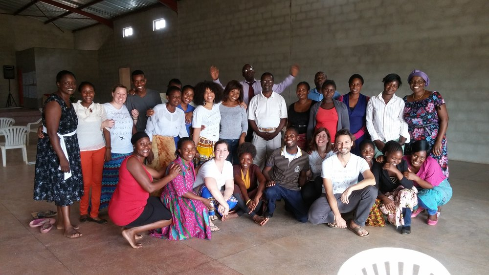 In December 2015, Emily traveled with four other LSCCs (Megan Gilmore, Erica Eyer, Levi Huffman, and Bria McCarty) to train 28 educational coaches in the Chilanga district of Lusaka, Zambia to prepare for the opening of Ceelelo School a year later.