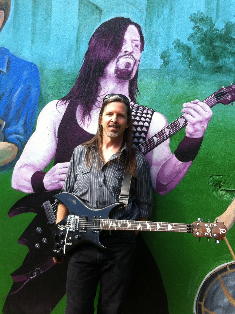 John at a the opening of his commemorative mural - Baltimore MD 2014