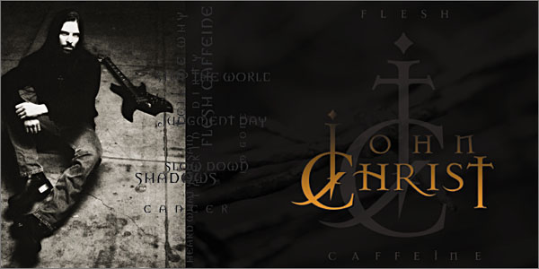 John Christ's CD Flesh Caffeine is available on iTunes