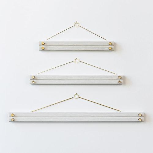Hanger Frame—White — 2nd Shift Design Co.