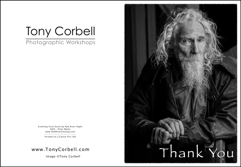 Lay out and print a greeting card corbell photographic workshops use them to solicit new clients say thank you to your customers or just wish family and friends cordial greetings m4hsunfo