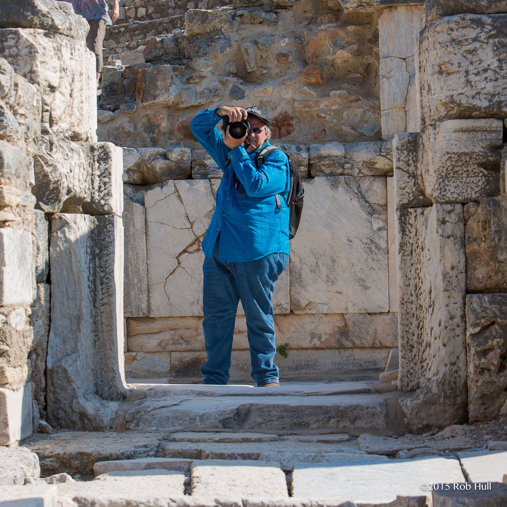 Tony Shoots in Ephesus