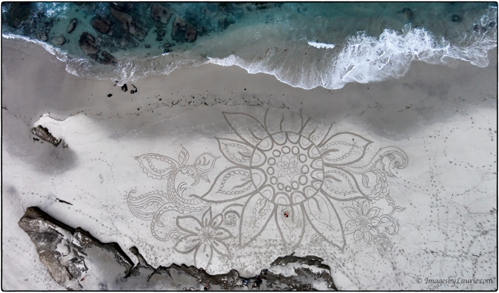 (Sand Art created by Diana Berti)