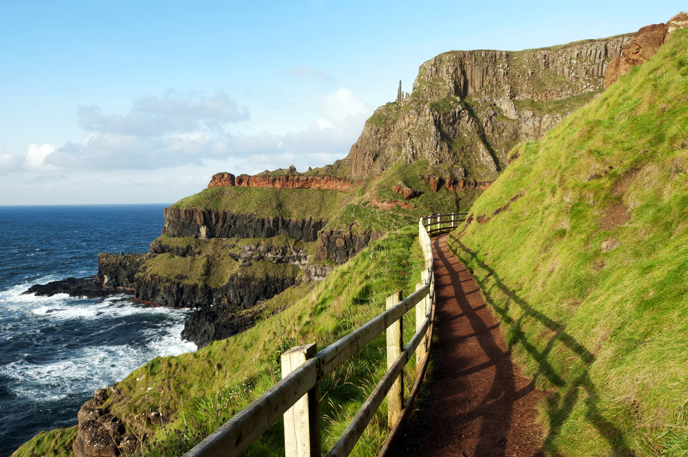 Path at the Giants Causeway