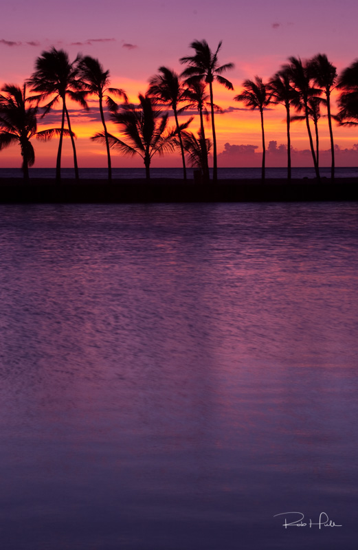 Sunsets can't get any better than the beaches in Hawaii.