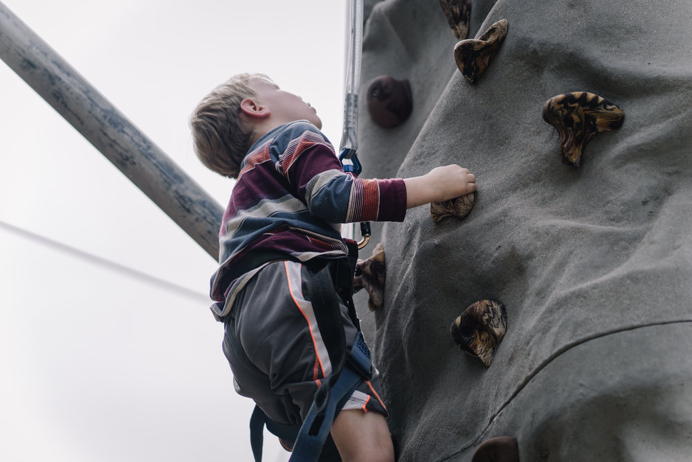 24-foot Climbing Wall
