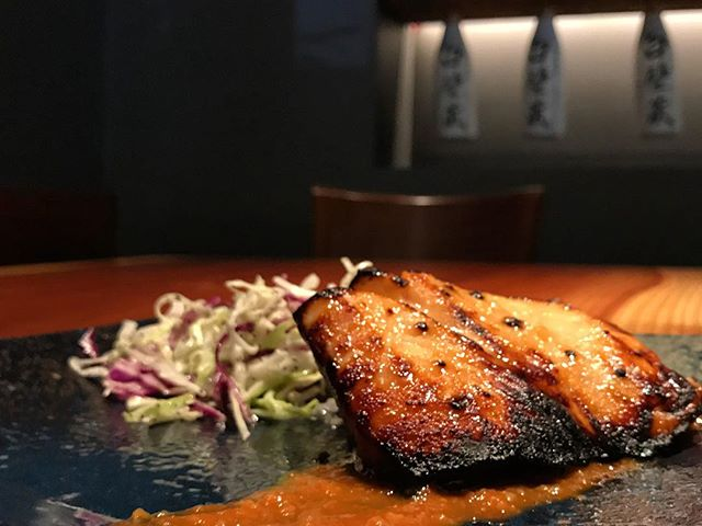 Our sake yaki is delicately grilled and served with a creamy miso sauce as well as a side of our house slaw. Theses small plates are sized for sharing 🙂  _________________________________ #akemiberkeley #berkeley #solanoave #berkeleyeats #eastbay #eastbayeats #berkeleyrestaurants #bayarea #bayareaeats #sanfrancisco #oakland #japaneserestaurant #japanesefood #sushi #sushirestaurant #noms #sushitime #foodstagram #food #foodie #delish #dinner #foodgasm #instagood #gastronomy #foodbeasts