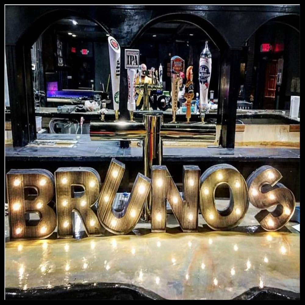 Brunos Bar Lights