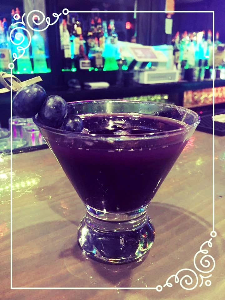 Bruno's Blueberry Martini