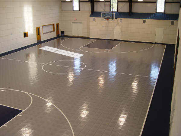 Rhino courts for Indoor basketball court flooring cost