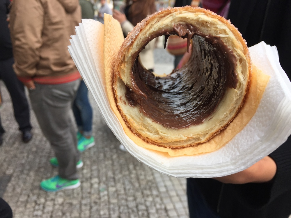 TRDELNÍK pastry in the flesh