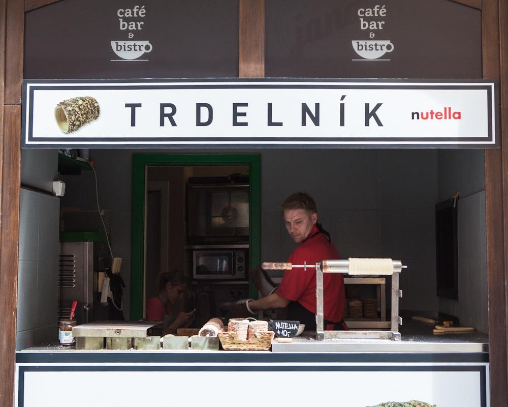 TRDELNÍK stand