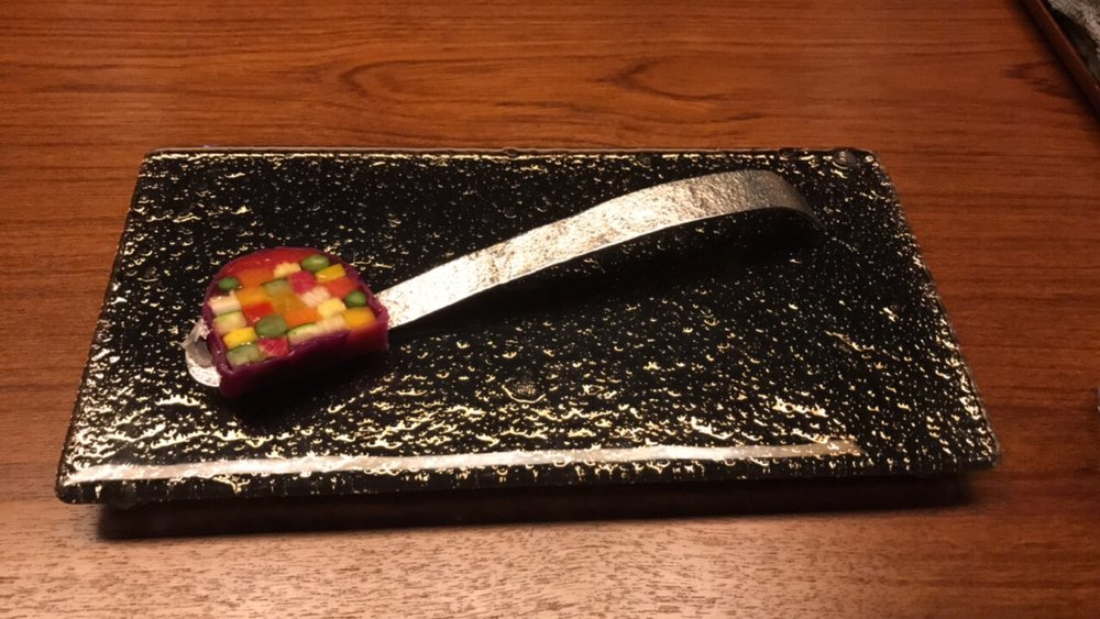 Takazawa - This small eatery with only three tables in Tokyo, expertly blended Japanese flavors with French technique to create an unforgettable meal.