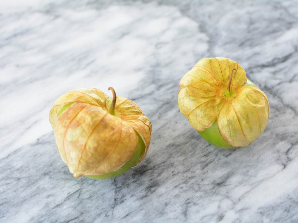 How cute are these tomatillos?