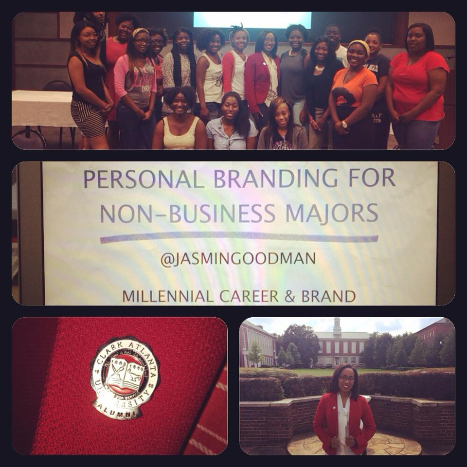 Personal Branding for Clark Atlanta STEM Students