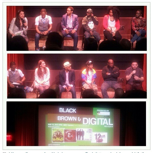 Black, Brown & Digital Screening + Panel in Harlem