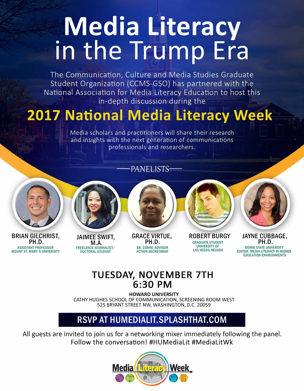 Event Organizer: Media Literacy in the Trump Era