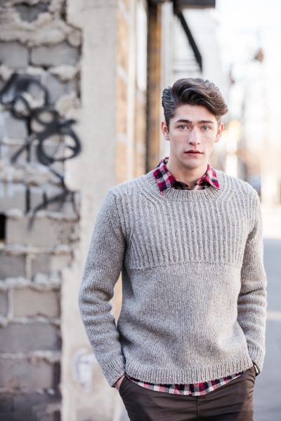 Brooklyn Tweed pattern Oshima by Jared Flood