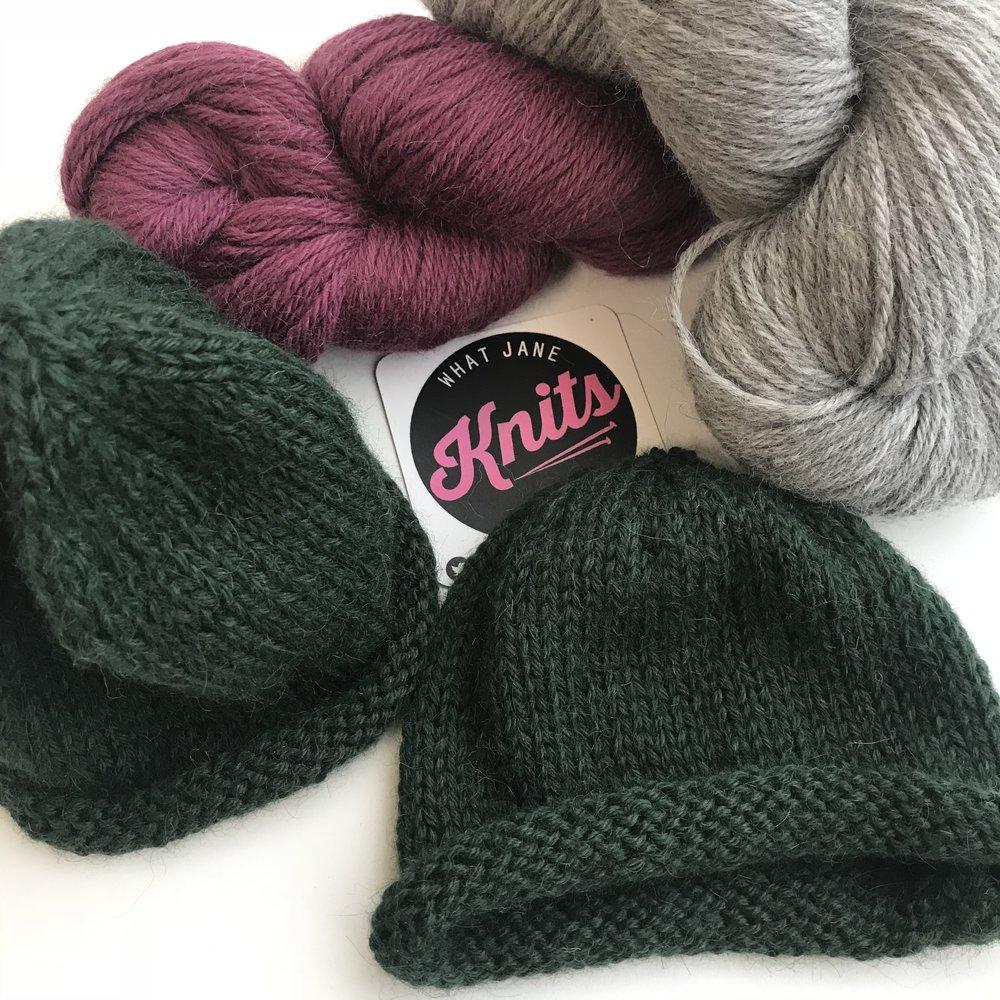 153e11843af Alpaca Baby Beanie Kits