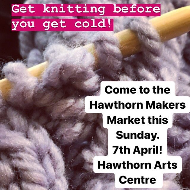 Come along to the Hawthorn Makers Market on Sunday and get your knitting project! @hawthornmakersmarket  Open from 10am til 3pm ✔️ Loads of gorgeous stalls✔️ Support local makers ✔️ #knitting #autumn #melbourne