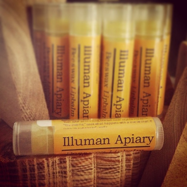 This was our first batch of lip-balm! We made 20 of them wondering if anyone would be interested in them. Boy were we surprised at the response! =)