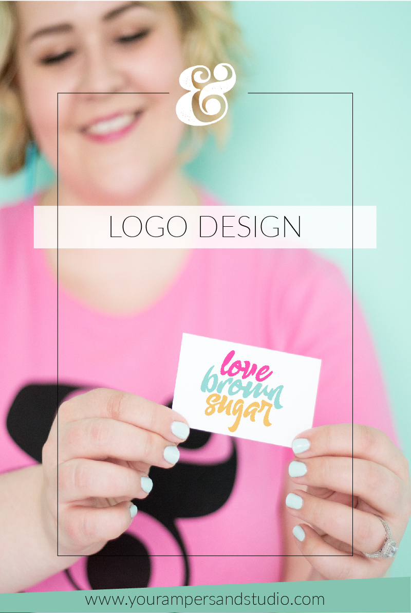 New logo design for Love Brown Sugar by Your Ampersand Studio