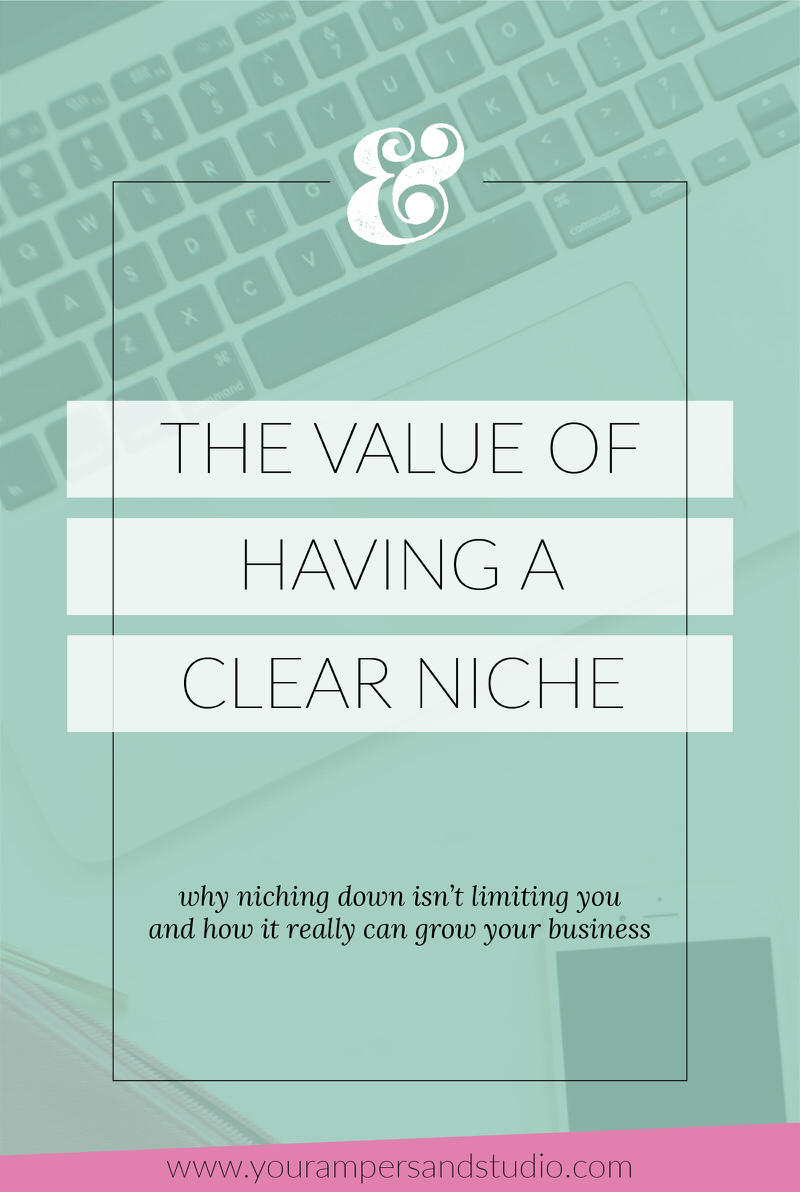The value of having a clear niche in your business and why that isn't limiting you, but actually helping to grow your business.