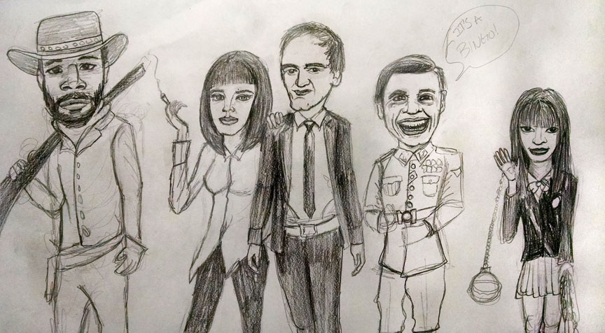 Tarantinopencil